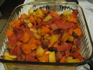 Sweet Root Veggies
